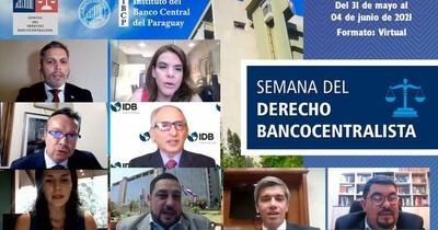La Nación / Continúa la Semana del Derecho Bancocentralista del BCP