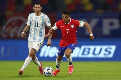Argentina y Chile no se sacaron diferencias