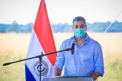 Presidente Mario Abdo realizará su jornada de gobierno desde Caaguazú