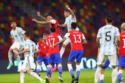 Argentina no puede con Chile