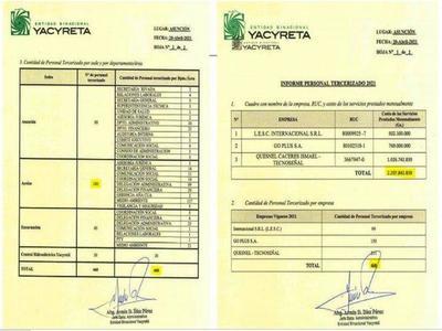 Afirman que Nicanor llevó a EBY 800 funcionarios – Prensa 5