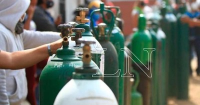 La Nación / Provisión sigue crítica: consumo de oxígeno en mayo fue superior al de abril