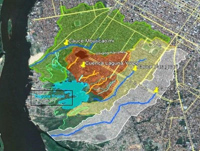 Convocan a consultoras para desarrollo de proyecto de la laguna Yrupé y diseño de un Parque Lineal