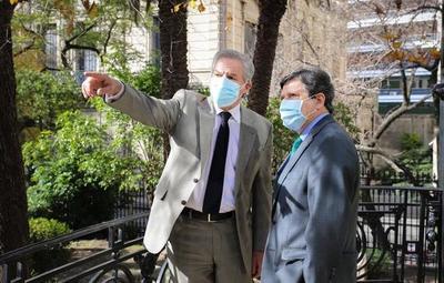 Acevedo visitó a Canciller argentino para fortalecer relaciones diplomáticas