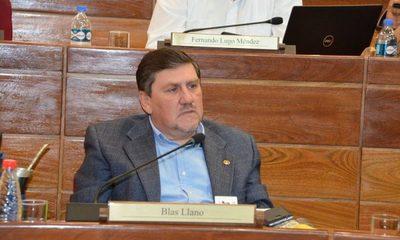 Rechazan a Llano para volver a ser presidente del Senado