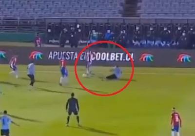 """Ángel Romero sacó a """"bailar"""" a Martín Cáceres"""
