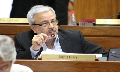 Senador Jorge Querey dio positivo al Covid