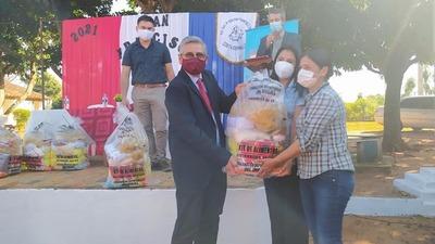 Inicia la segunda entrega de kits de alimentos en Guairá