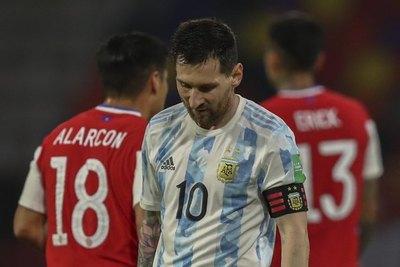 La soledad de Messi, el 'déjà vu' de Argentina
