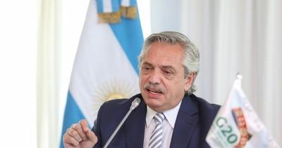 La Nación / Alberto Fernández traerá vacunas para Argentina y Paraguay