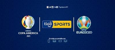 TIGO SPORTS TRANSMITIRÁ LOS PARTIDOS DE LA COPA AMÉRICA Y UEFA EUROCOPA