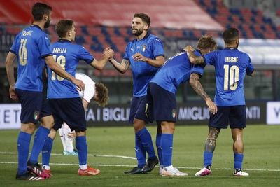 Italia golea y se divierte antes de la Eurocopa