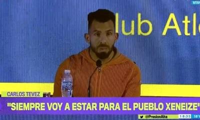 Tevez se despide de Boca y deja en suspenso si volverá a jugar