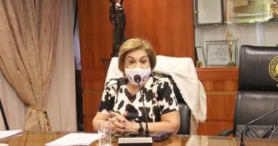 La Nación / Ministra Bareiro se aparta del estudio de la acción promovida por Itaipú, contra auditoria