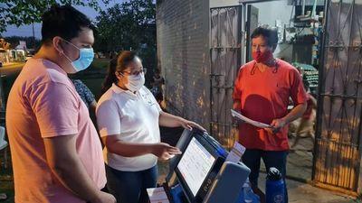 Guairá: continúa capacitación sobre uso de urnas electrónicas