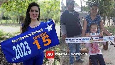 DEL PILAR VÁZQUEZ BUSCA REPRESENTAR AL INTERIOR EN EL DIRECTORIO NACIONAL DEL PLRA.