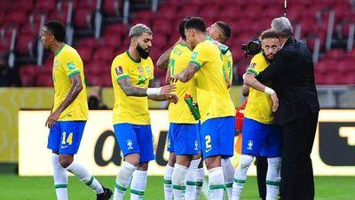 Brasil viene con pleno de victorias a Paraguay