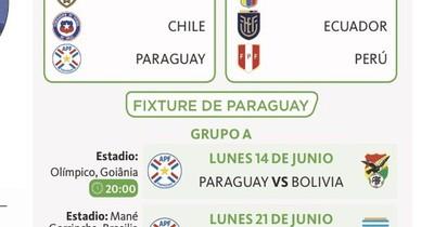 La Nación / Paraguay debuta frente a Bolivia
