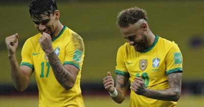 La Nación / Con asistencia y gol, Neymar eleva a Brasil