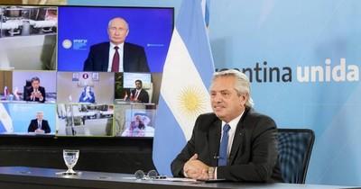 La Nación / Fernández traerá vacunas para Argentina y Paraguay