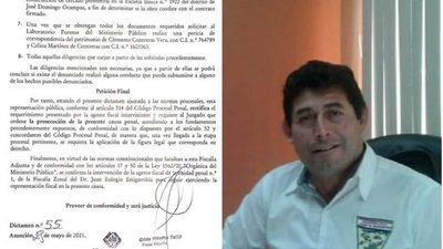 FISCALÍA ORDENA QUE CONTINÚE INVESTIGACIÓN A CUESTIONADO INTENDENTE DE J.D. OCAMPOS