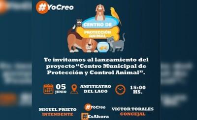 Lanzarán proyecto de Centro Municipal de Protección Animal