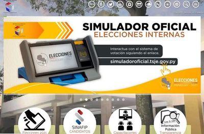 Sepa cómo y por quién votar con el simulador del TSJE