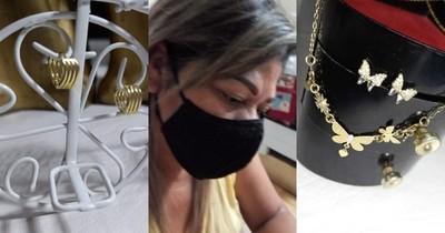 La Nación / Ejemplo de superación: quedó sin trabajo en plena pandemia y ahora vende joyas para salir adelante