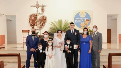 El sí, acepto de Lilian  Fleitas  y Cristhian Rubén  Aquino