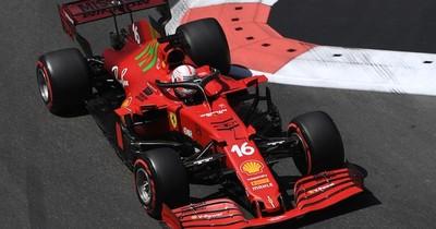 La Nación / Leclerc sale desde la pole en Azerbaiyán