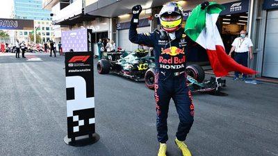 Fórmula 1: Checo Pérez se queda con un alocado GP de Azerbaiyán