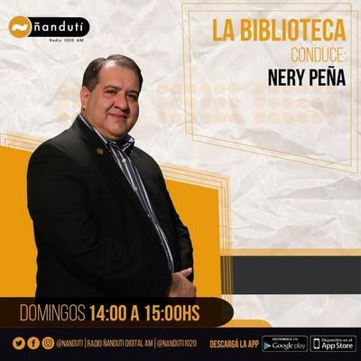 La Biblioteca con la conducción de Nery Peña
