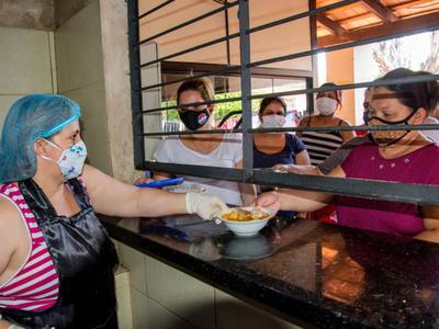 Soledad, la interna que cocina en la cárcel para mujeres del Buen Pastor