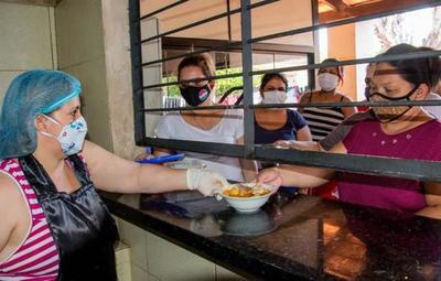 Soledad, la mujer encargada de la cocina en la cárcel del Buen Pastor