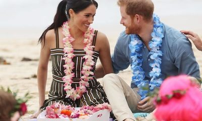 Príncipe Harry y Meghan Markle anunciaron el nacimiento de su hija