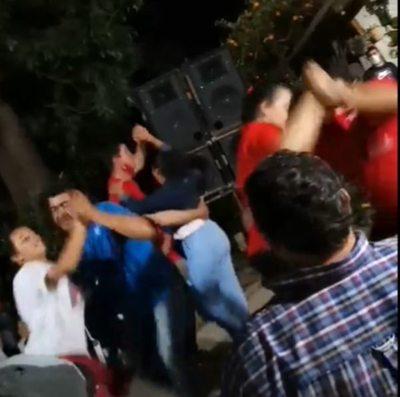 Denuncian aglomeración en fiesta partidaria en Villa Florida