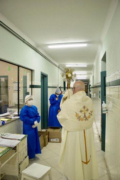 Peregrinación del Corpus Christi en Pilar