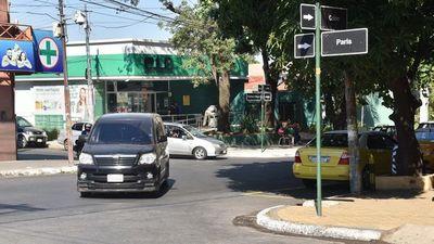 Precaria señalización en avenidas es un riesgo para el tránsito capitalino