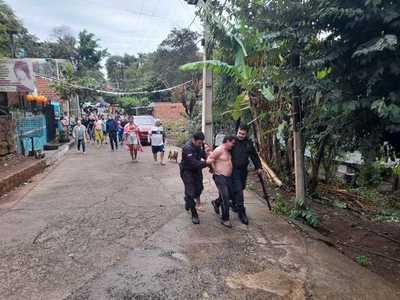 Detienen a sospechoso de matar a su exhijastro en el barrio San Rafael de CDE