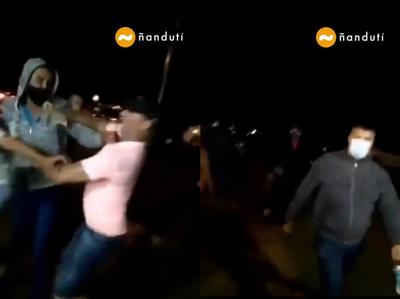 """Quyquyhó: precandidato a concejal sostiene que diputado lo agredió por filmar """"batalla campal"""""""
