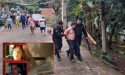Capturan a criminal que estaba escondido después de asesinar al hijo de su ex pareja – Diario TNPRESS