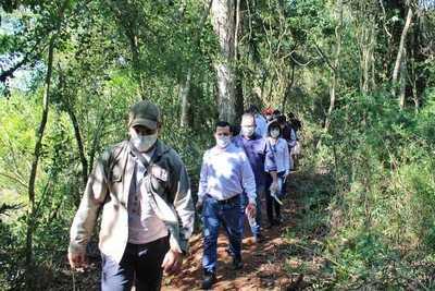 Habilitan senderismo en reserva natural de Yguazú
