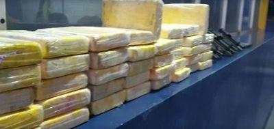 Detienen a paraguayo con casi 50 kilos de cocaína y armas en Brasil