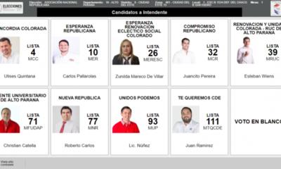 Ocho candidatos colorados a la intendencia de CDE