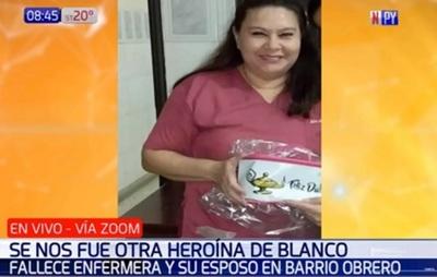 Enfermera del Barrio Obrero fallece por Covid-19