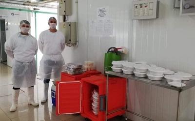 Itaipu ya entregó 18.300 platos de alimentos al Pabellón de Contingencia
