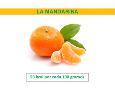 Mandarina, ideal para consumir en esta temporada