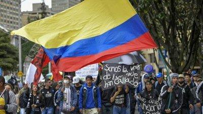 91 personas se mantienen desparecidas en protestas en Colombia