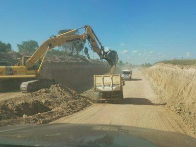 Nuevo asfaltado progresa entre Amambay – Concepción
