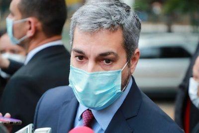 Mario Abdo aseguró que junio será el mes con la mayor cantidad de vacunas recibidas